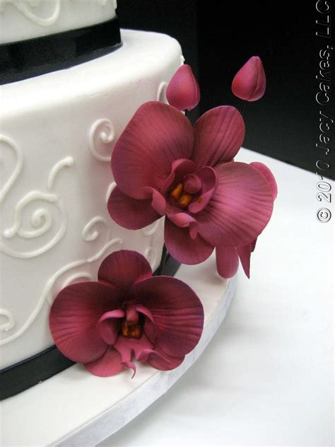 hochzeitstorte orchidee news from jacy cakes orchids swirls wedding cake