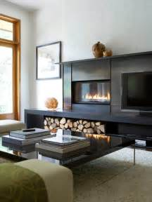 Contemporary Small Living Room Ideas fireplace next to tv houzz