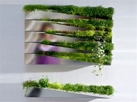 Green Wall Planters by Reader Tip Quot Grass Mirror Quot Planter Wall Adds Green To Any Room Inhabitat Sustainable Design