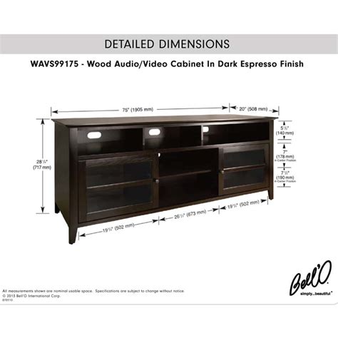 80 Inch Tv Stand by Bello Wood Tv Cabinet For 80 Inch Tvs