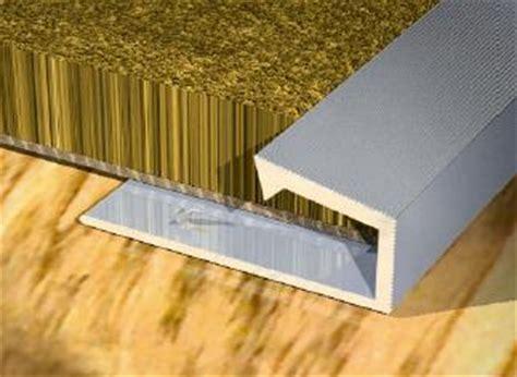 carpet and laminate square edge trims floor wall