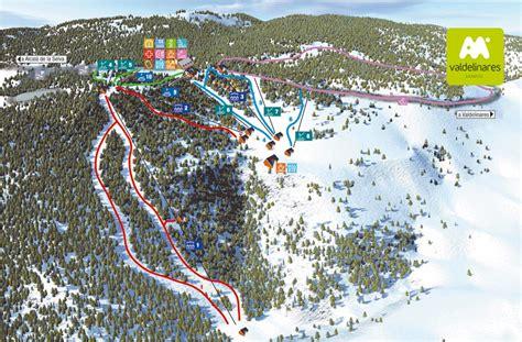 Chair Lifts Valdelinares World Ski Resorts Piste Maps