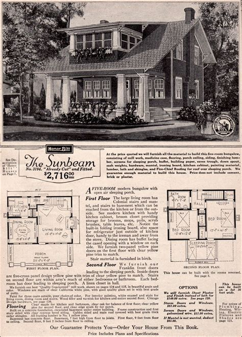 old sears house plans sears kit house plans