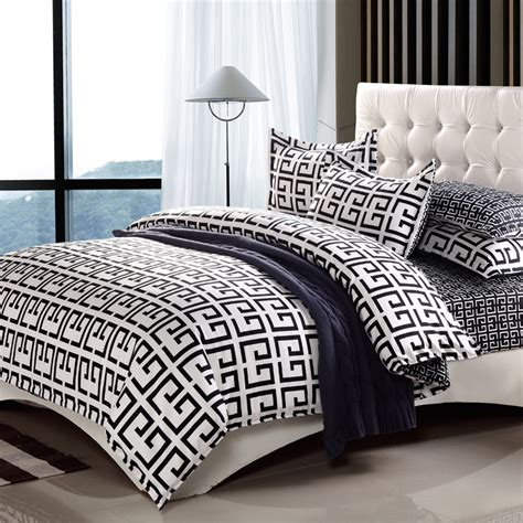 black and white full size comforter paris fashion black white king queen double full twin size