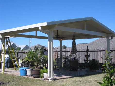 aluminum patio covers houston freestanding patio cover in houston tx lonestar patio
