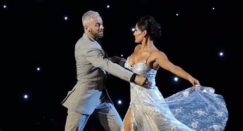 nikki bella necklace nikki bella slows it down for elegant dwts ballroom