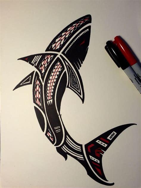 tribal shark tattoos meaning the 25 best tribal shark tattoos ideas on