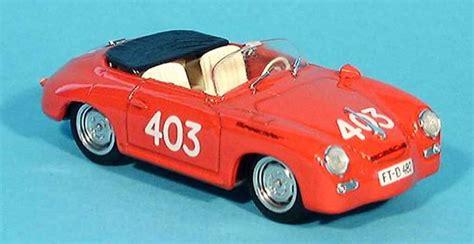 Die Cast 1 87 Porche 256b 1959 porsche 356 1952 speedster no 403 mille miglia brumm