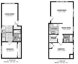 apartment floor plans one bedroom google search pat s