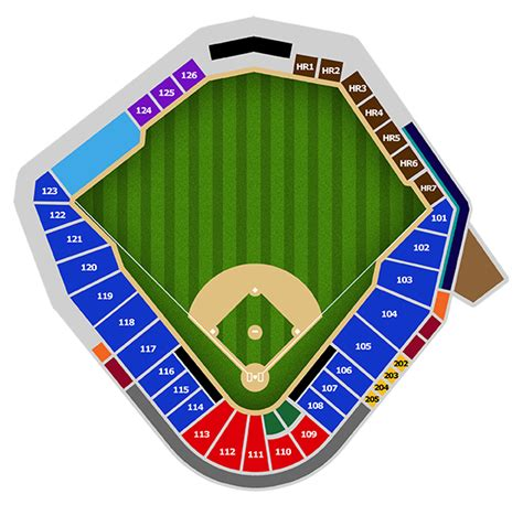 ballpark seating chart pricing charlotte knights