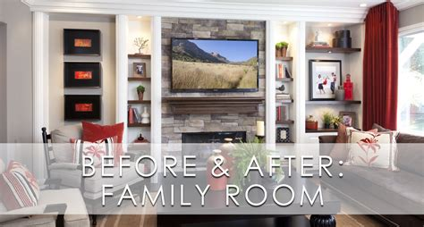 stylish transitional family room robeson design san stylish transitional family room before and after robeson
