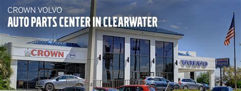 crown volvo parts center auto repair  clearwater fl