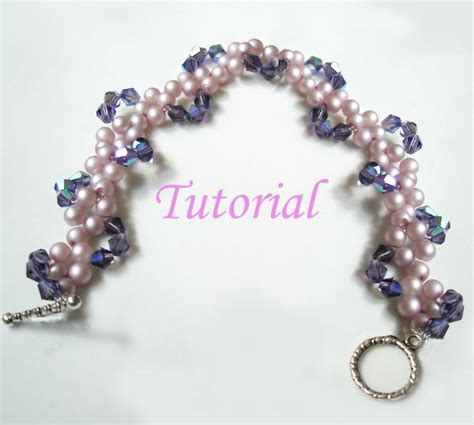 Handmade Bracelets Tutorial - you to see beaded pearly twine bracelet tutorial by