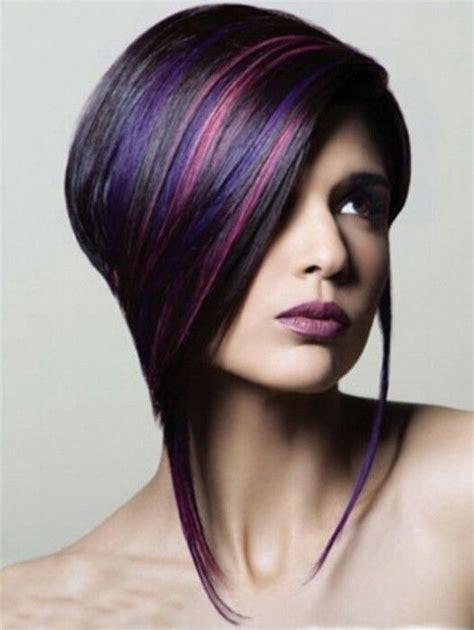 imagenes en cabello negro moda cabellos pelo negro con mechas de color 2015