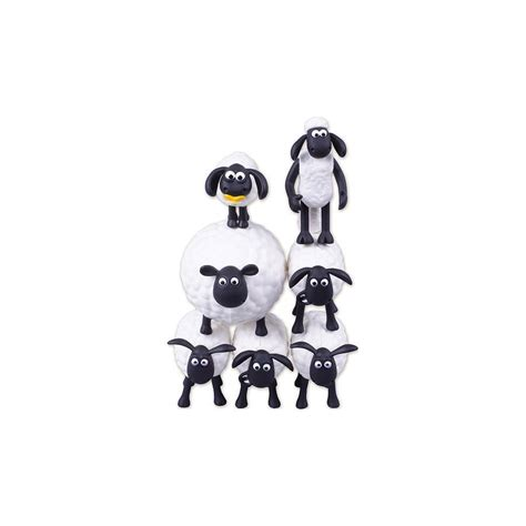 Shaun The Sheep 7 1 shaun the sheep set 7 mini figure tsumu tsumu 5cm