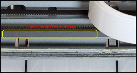 Timing Belt Printer Canon Mp258 canon knowledge base cleaning the encoder timing