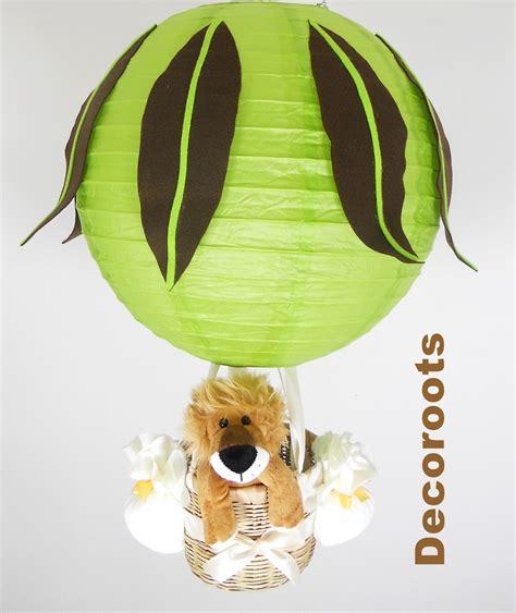 lustre chocolat le montgolfi 232 re enfant b 233 b 233 l 233 opard vert anis jaune et