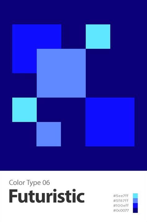 futuristic colors futuristic color 색