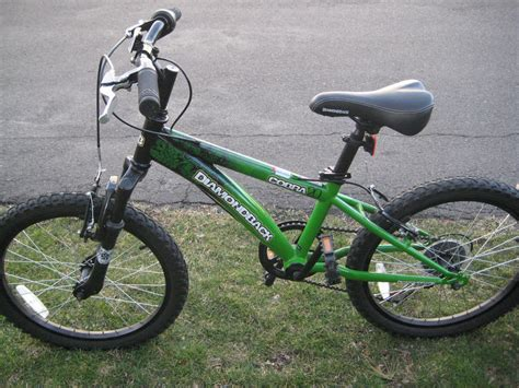 Green Diamondback Cobra Mountain Bike 20' Wheels | eBay Diamondback Bicycles
