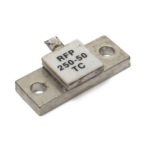 rf resistor high power original 5pcs 250watt 50ohm rf resistor rfp 250 50tc rfp250 50tc rfp250 50 used power