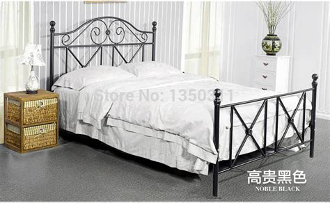 wrought iron bedroom furniture online buy wholesale metal bed from china metal bed