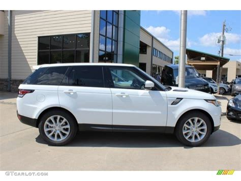 Fuji White 2016 Land Rover Range Rover Sport Hse Exterior