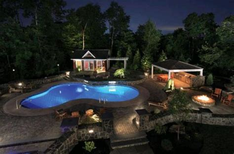 Backyard Resorts Pools And Spas 6 Pool Deck Patio Design Ideas Luxury Pools