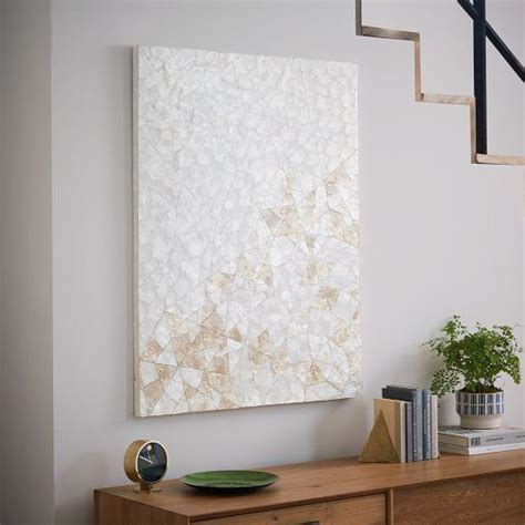 capiz shell wall decor capiz wall capiz wall angle west elm with