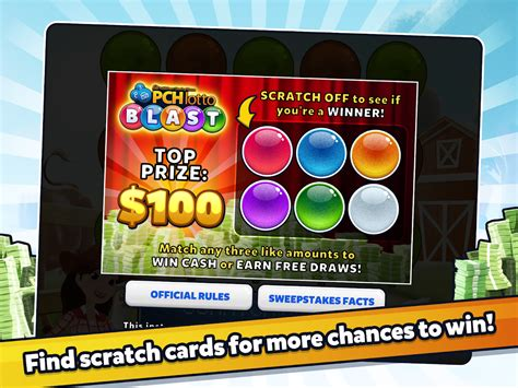 Publishers Clearing House Lotto - pch lotto blast android apps on google play