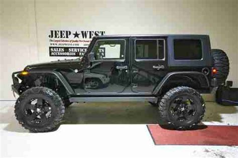 2009 Jeep Grand Lifted Sell Used 2009 Lifted Jeep Wrngler Unlimited 4 Door