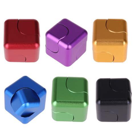 New Fidget Cube Fidget Spinner Cube Spinning Gyro wholesale metal fidget cube spinner magnetic rotating finger