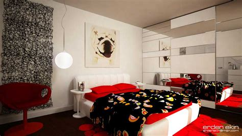 red and black room red and black kids room design ideas by erdenekin