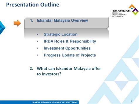 Irda Notes For Mba by Iskandar Malaysia