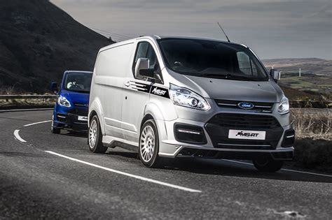 bmw vans and ford transit m sport vans and ranger pickup renamed ms rt