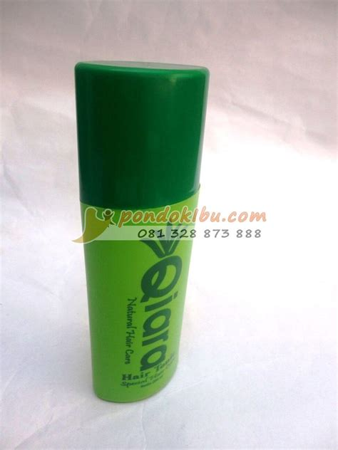 Tonik Perawatan Rambut Rontok 20ml qiara hair tonic hair care untuk rambut rontok