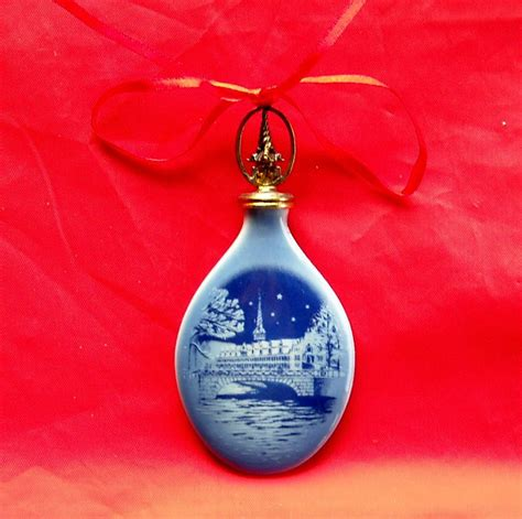 bing grondahl copenhagen denmark christmas drop ornament