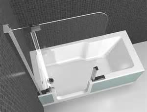 austausch badewanne gegen dusche zweite artweger twinline mit dem platzbedarf einer
