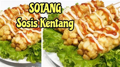 resep sotang sosis kentang youtube
