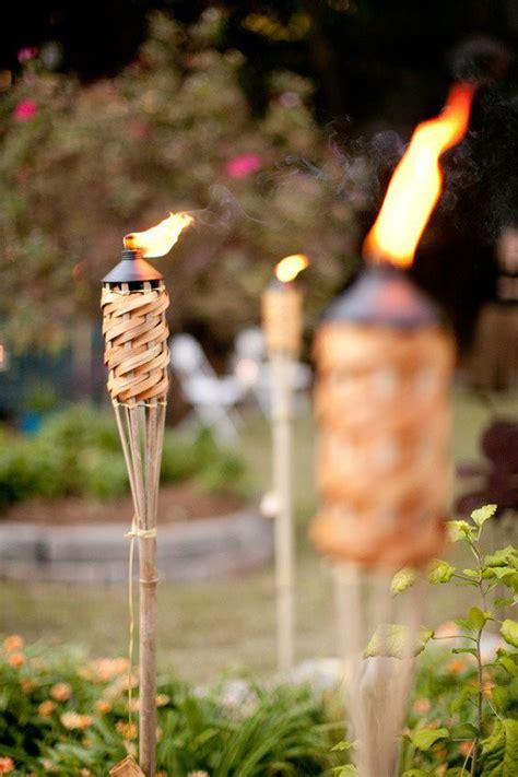 backyard torch backyard peachtree city wedding by nam nguyen photography