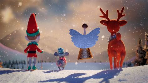 aardman creates christmas ad for myer dept store stop