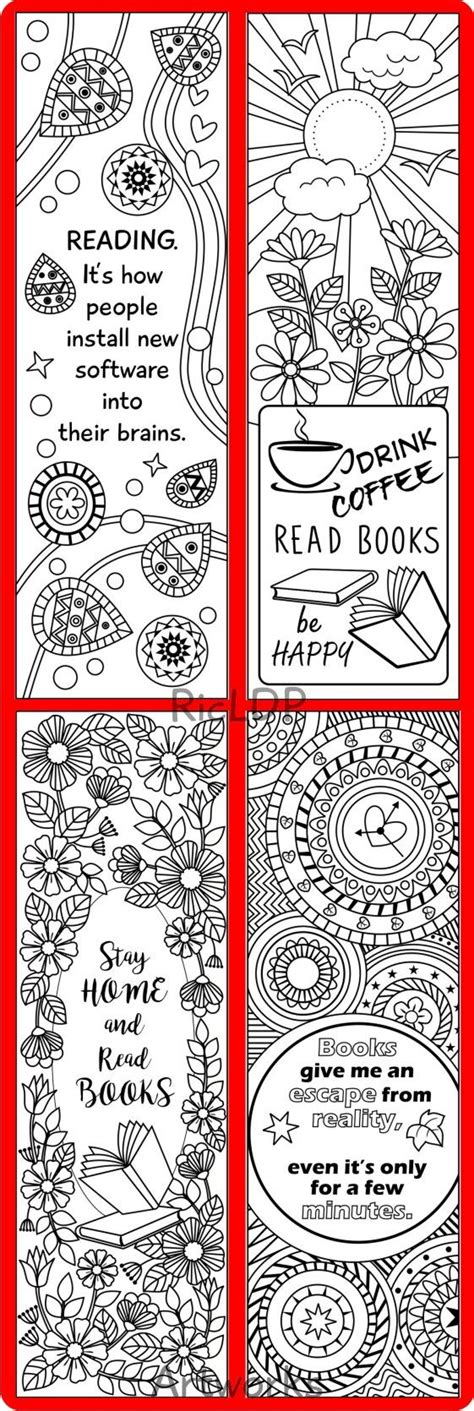 Bookmark Design Templates by Best 25 Bookmark Template Ideas Only On
