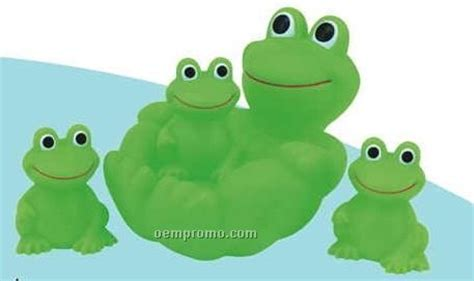 Family Frog Limited rubber frog 4 big family china wholesale rubber frog