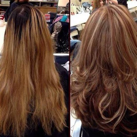 corte en v con capas cortes de pelo a capas 20 fotos sobre el cabello 2018