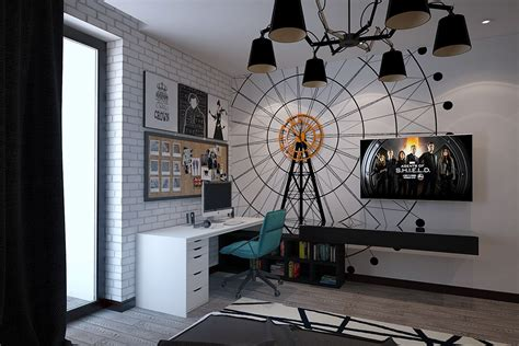 unusual wall art funky rooms that creative teens would love