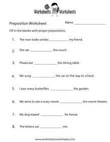 preposition practice worksheet free printable