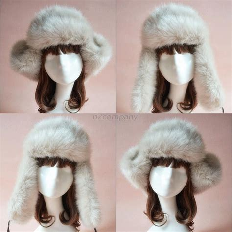 Luxe To Less Winter Hats Up 2 by Nwt Luxe Faux Fur Ski Snowboard Ear Flap Winter