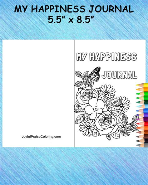 printable happiness journal happiness journal journal kit journal for women