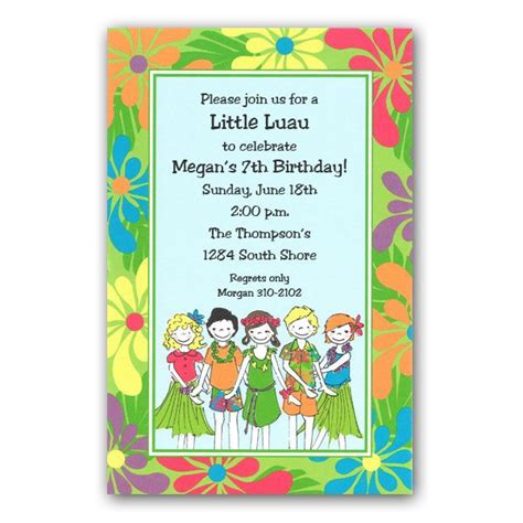luau invitation template printable luau invitations templates images frompo