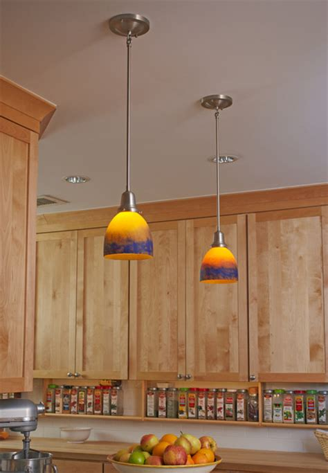 kitchen island lighting eclectic pendant lighting