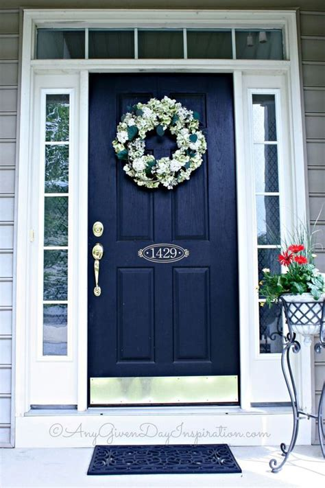 navy blue front door 27 chic front doors to try for your entry shelterness